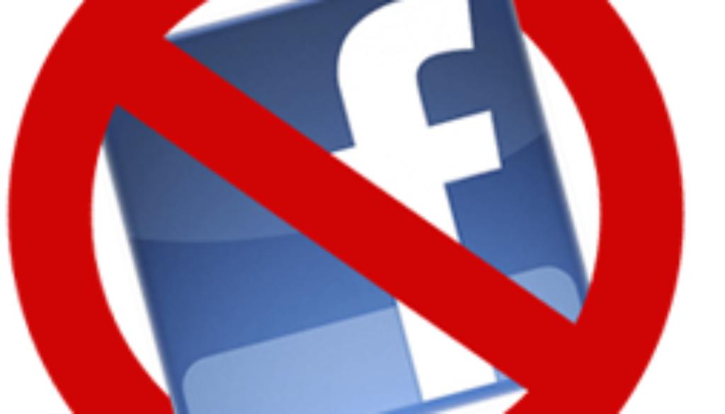 no-facebook-icon
